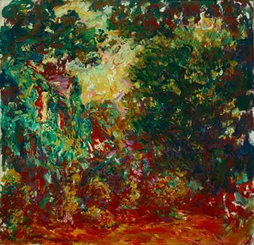 La Maison De L Artiste Vue Du Jardin Aux Roses 407303 ¯ロード âネ Claude Monet ¢ート作品のオンラインストア ¢フロプリント