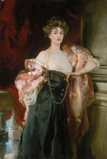 Lady Helen Vincent, Viscountess of Abernon. 1904 [38887] ジョン ...