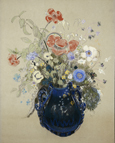 名画絵画のプリント作品販売 A Vase of Blue Flowers, c.1905-08のA Vase of Blue Flowers, c.1905-08