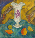 名画絵画のプリント作品販売 Walter OpheyのStill life with white vase and fruits. Ca. 1924