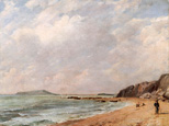 名画絵画のプリント作品販売 ジョン・コンスタブル John ConstableのA View Of Osmington Bay, Dorset, Looking Towards Portland Island.