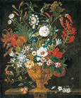 名画絵画のプリント作品販売 ピーテル(ピーター)・キャスティールズ Pieter Casteels IIIのThe twelve months of flowers. A floral Calendar of still lifes - September. 1730-31