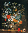 名画絵画のプリント作品販売 ピーテル(ピーター)・キャスティールズ Pieter Casteels IIIのThe twelve months of flowers. A floral Calendar of still lifes - May. 1730-31