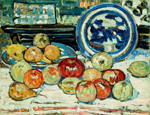 名画絵画のプリント作品販売 Maurice Brazil PrendergastのStill Life with Apples.