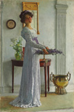名画絵画のプリント作品販売 William Henry MargetsonのFresh Lavender. 1909