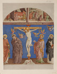 名画絵画のプリント作品販売 Johann Anton Alban RambouxのChrist on the Cross. In the Church S. Domenico zu Arezzo.