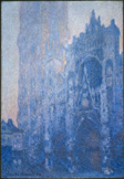 名画絵画のプリント作品販売 クロード・モネ Claude MonetのRouen Cathedral: The Portal and the Tour d'Albane
