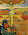 名画絵画のプリント作品販売 ポール・ゴーギャン Eugene Henri Paul GauguinのCrucified Christ or The Yellow Christ