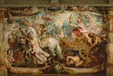 名画絵画のプリント作品販売 ピーテル・パウル・ルーベンス Peter Paul RubensのThe Triumph of the Church over Fury, Hatred and Discord. 1627/28