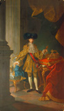 名画絵画のプリント作品販売 Martin van MeytensのPortrait of the Emperor Joseph II of Austria.