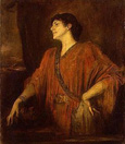 名画絵画のプリント作品販売 フランツ・フォン・レンバッハ Franz Seraph Lenbach Ritter von LenbachのThe Wife of Franz von Stuck as Salome. 1894