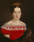 名画絵画のプリント作品販売 Georg Friedrich Adolf SchonerのErzherzogin Adelheid von Oldenburg.