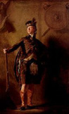 名画絵画のプリント作品販売 Sir Henry RaeburnのBildnis Alastair MacDonell of Glengarry.
