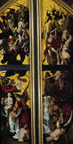 名画絵画のプリント作品販売 ハンズ・フライズ Hans FriesのLast Judgement: Resurrection of the Blessed, Fall of the Damned. 1501