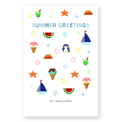 PIXEL SUMMER GREETINGS