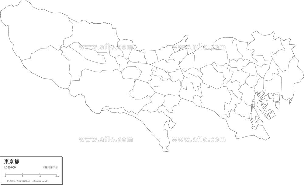 都 フリー 東京 地図